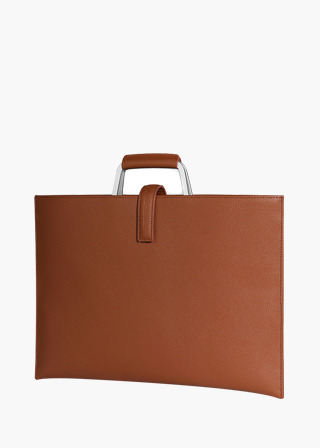[EXCLAMATION MARK] No.B#E100ROSA BRIEF CASE [BROWN]